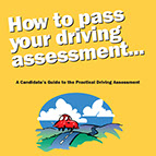 How to pass driving assessment book cover
